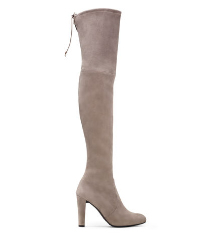 Celebrity Favourite 'Highland' Boots grey by Stuart Weitzman